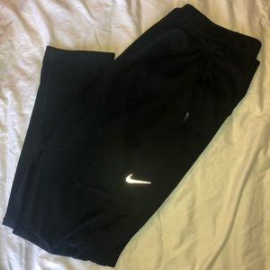 Nike Men's Joggers Black | Large